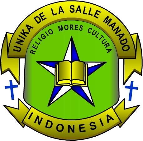 Logo Unika De La Salle Manado